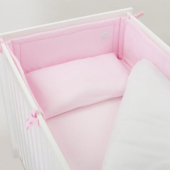 Pościel baby star różowa