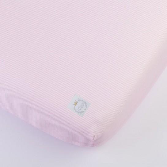 A pink bedsheet
