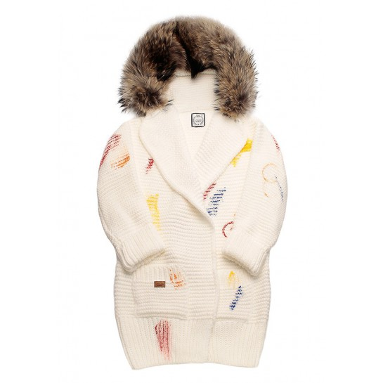 Sweter Ręcznie Tkany - Mommy Star!