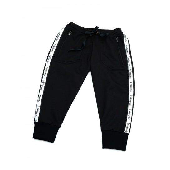 """Spodnie dresowe """"Monaco"""" czarne damskie"""