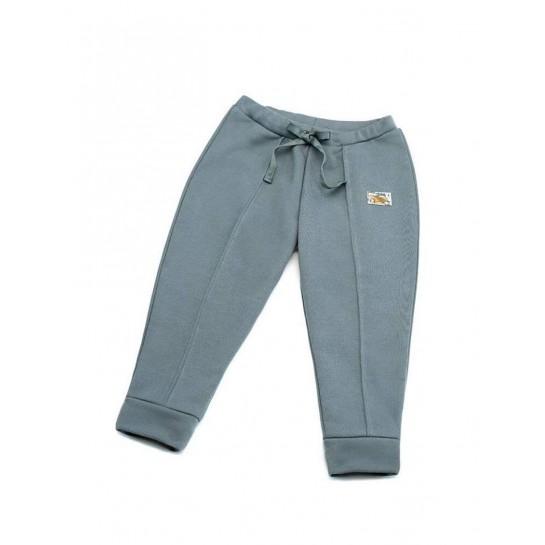 """Spodnie """"Paris"""" szare damskie"""