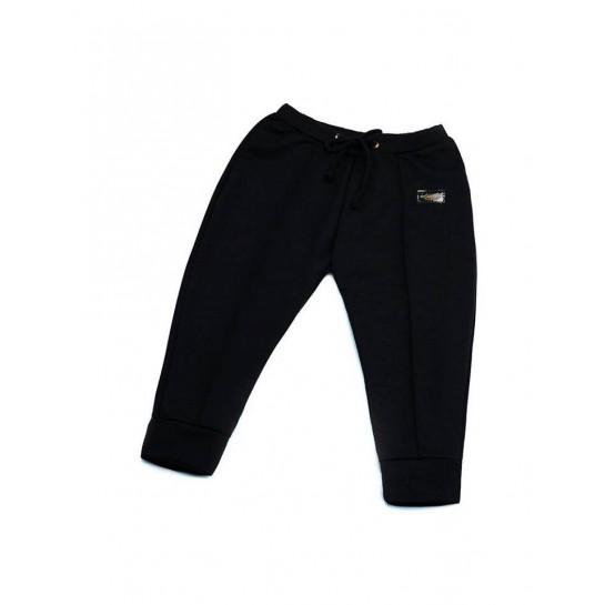 "Spodnie ""Paris"" czarne damskie"