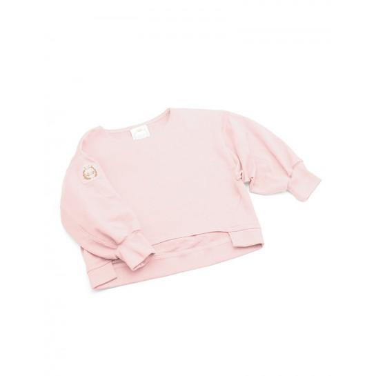 """Bluza dresowa """"California"""" pudrowy róż damska"""