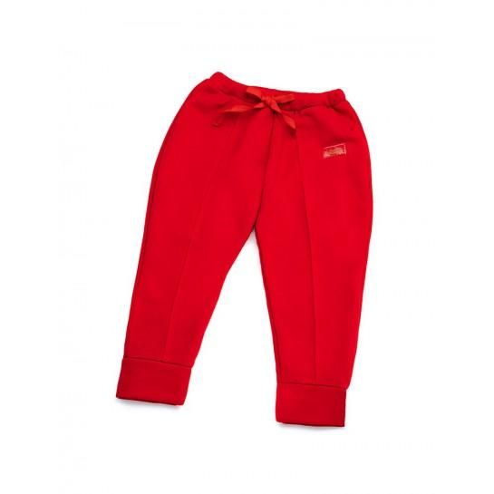 """Spodnie """"Paris"""" czerwone damskie"""
