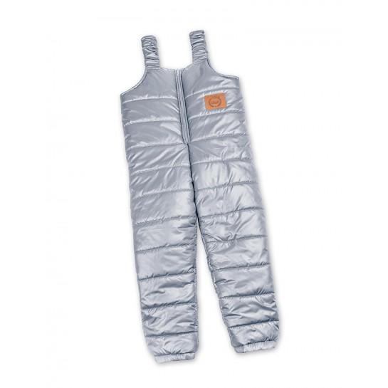 Zimowe spodnie szare