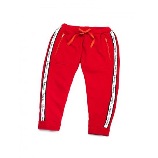 """Spodnie dresowe """"Monaco"""" czerwon damskiee damskie"""