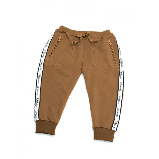 """Spodnie dresowe """"Monaco"""" camel damskie"""
