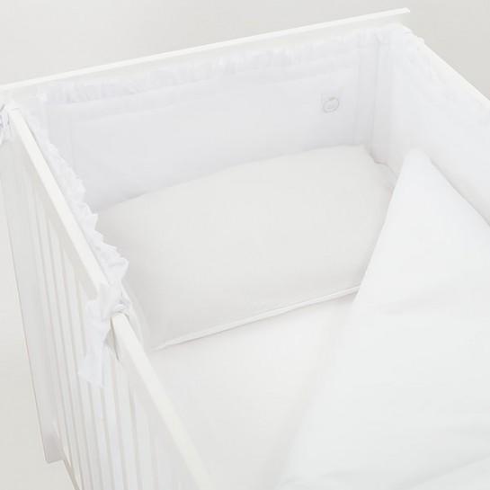 Pościel baby star biało szara